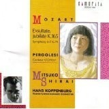Hans Koppenburg, Mitsuko Shirai / Mozart : Exsultate, Jubilate, K.165 , Pergolesi : Cantata L'Orfeo (일본수입/32CM142)