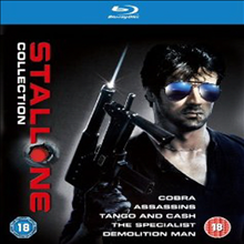 Stallone Blu-ray Collection (�Ǻ����� ���ŷ� ��緹�� �ݷ���) (Cobra / Assassins / Tango and Cash / The Specialist/Demolition Man) (�ѱ۹��ڸ�)(Blu-ray) (2012)