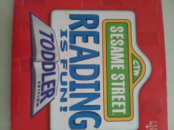 Sesame Street Reading is fun