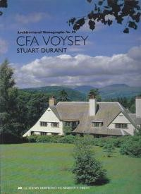 CFA VOYSEY STUART DURANT - ARCHITECTURAL MONOGRAPHS NO 19