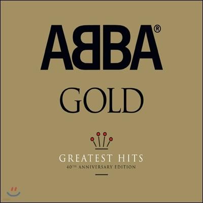 Abba - Gold (40th Anniversary Edition) (아바 40주년 기념 골드 디럭스 에디션)