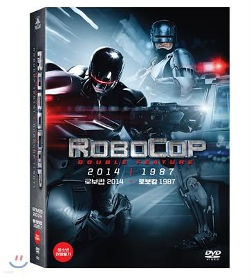 로보캅 2Pack 박스세트 (2Disc 한정판) : 로보캅 1987 + 로보캅 2014