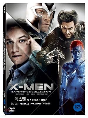 엑스맨 익스피리언스 컬렉션 (6Disc 한정판) : 엑스맨 1.5 + 엑스맨 2 + 엑스맨: 최후의 전쟁 + 엑스맨: 퍼스트 클래스