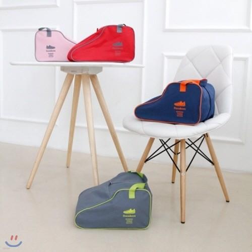 [레드비]아웃도어 슈즈백 (그레이/핑크/레드/네이비) 색상선택  /등산/신발/운동화/캠핑/여행/가방