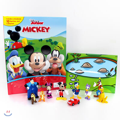 Disney Mickey Mouse Clubhouse Mouseka Fun My Busy Book 미키마우스 클럽하우스 비지북 피규어책