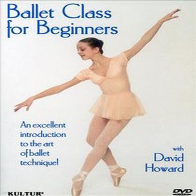 초보자를 위한 발레 마스터 클래스 (Ballet Class for Beginners) (지역코드1)(한글무자막)(DVD) (2004)