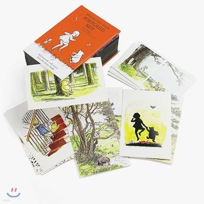 디즈니 위니 더 푸 원화 엽서 100장 세트 : Winnie-the-Pooh : Postcard Set