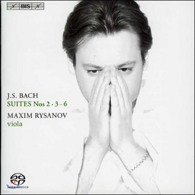 Maxim Rysanov 바흐: 무반주 첼로 모음곡 [비올라 편곡] (JS Bach: Cello Suites Nos. 2, 3 and 6)
