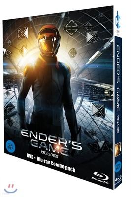 엔더스 게임 ( 2Disc ) : BD+DVD콤보팩 한정판