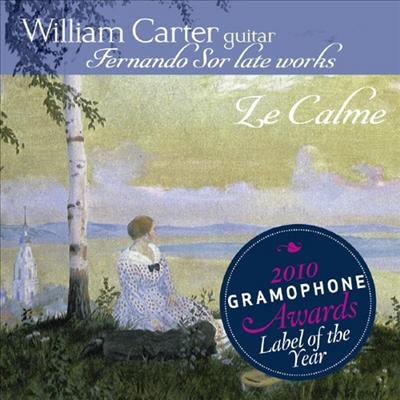 페르난도 소르 : 후기 작품집 (Fernando Sor : Late Works) (SACD Hybrid) - William Carter