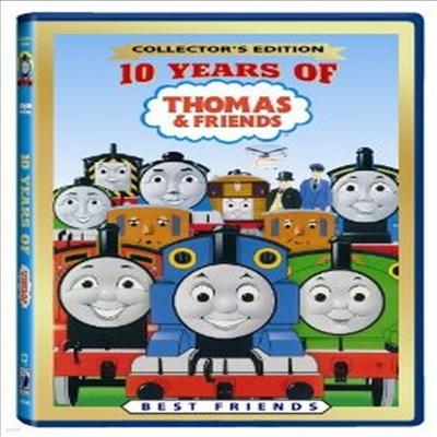 10 Years Of Thomas (토마스와 친구들: 10 이어스 오브 토마스) (지역코드1)(한글무자막)(DVD)