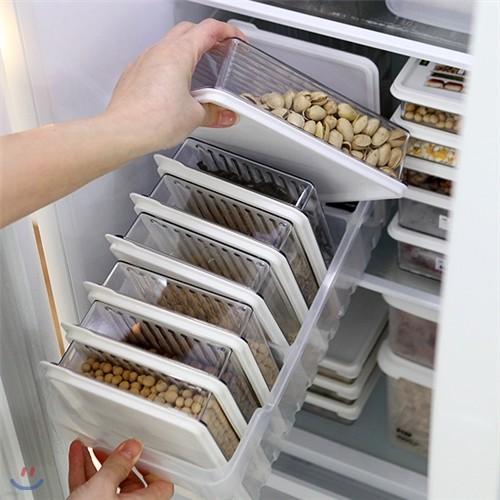 센스 냉장고정리 고급형A (트레이(대1개) + 소분...