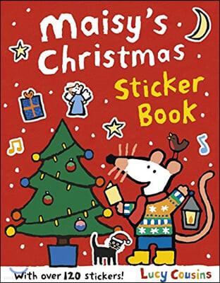 Maisy's Christmas Sticker Book : 메이지 크리스마스 스티커북 (스티커 120개 포함)