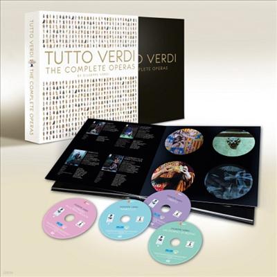 TUTTO VERDI Premium Box - 베르디 탄생 200주년기념 (한글자막)(27Blu-ray Boxset)(2012)(Blu-ray)(2012) - 여러 아티스트
