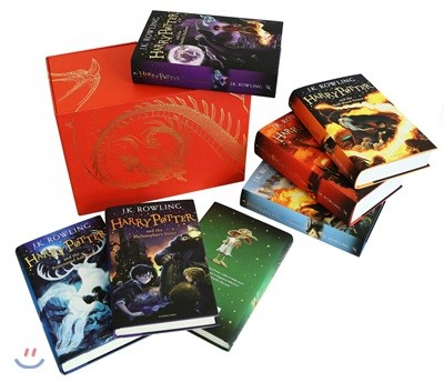 Harry Potter Boxed Set: The Complete Collection 해리포터 원서 하드커버 7권 박스 세트 (영국판)
