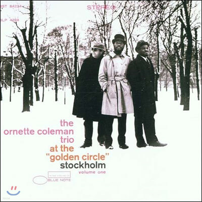 "Ornette Coleman Trio (오넷 콜맨 트리오) - At The ""Golden Circle"" Stockholm Vol.1 [LP]"