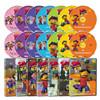 New 꼬마 과학자 시드 1집 14종세트 (DVD7종 + 오디오CD7종)