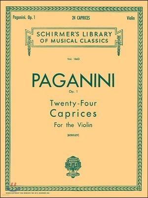 Paganini Op. 1
