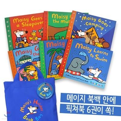Maisy`s Holiday Book Bag 메이지 6종 + 가방 세트