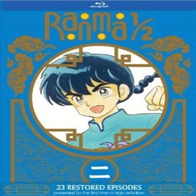 Ranma 1/2 Set 2 (란마 1/2 세트 2) (한글무자막)(Blu-ray)