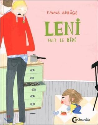 Leni fait le bebe