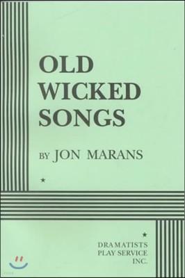 연극 올드위키드송 대본집 Old Wicked Songs