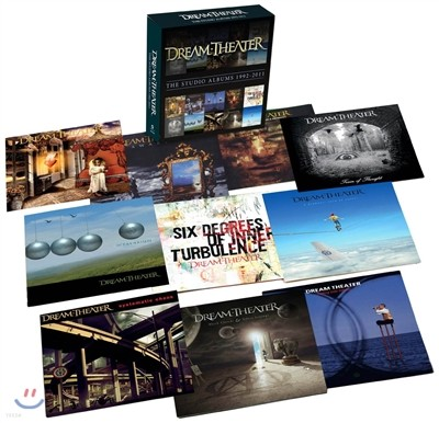 Dream Theater - The Studio Albums 1992-2011 (Deluxe Box Limited Edition) (드림시어터 스튜디오 앨범 박스 세트)