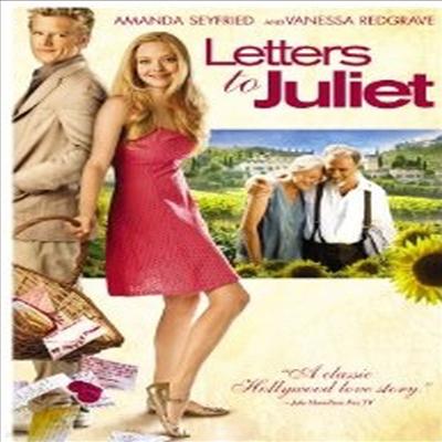 Letters to Juliet (레터스 투 줄리엣) (2010)(지역코드1)(한글무자막)(DVD)