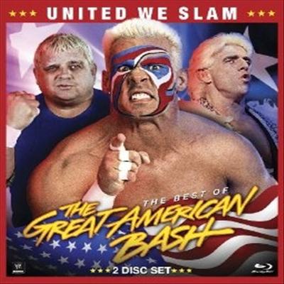 Wwe: United We Slam - Best of Great American Bash (Wwe: United We Slam) (한글무자막)(Blu-ray)