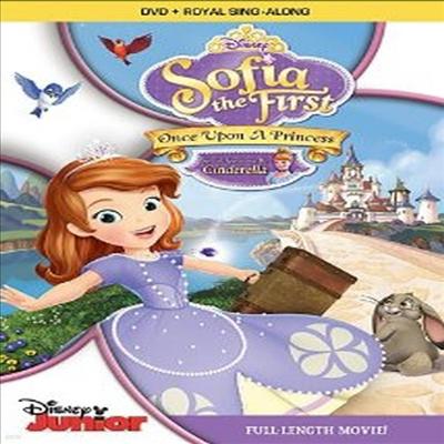 Sofia the First: Once Upon a Princess (리틀 프린세스 소피아)(지역코드1)(한글무자막)(DVD)