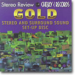 Gold Stereo And Surround Sound Set-Up Disc