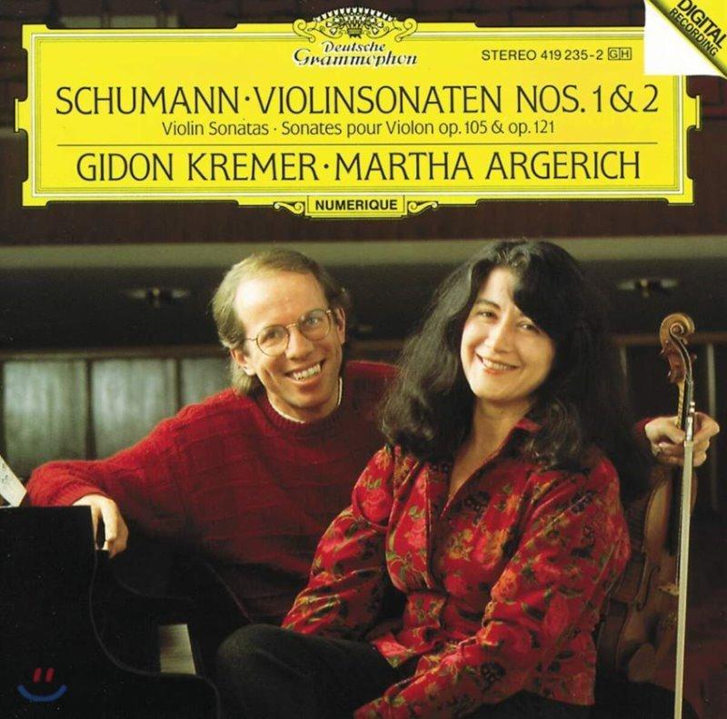 Gidon Kremer 슈만: 바이올린 소나타 1, 2번 (Schumann: Violin Sonata Op. 105, 121)