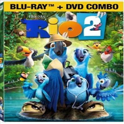 Rio 2 (리오 2) (한글무자막)(Blu-ray)