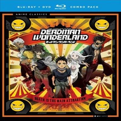 Deadman Wonderland: Complete Series Classic (데드맨 원더랜드) (한글무자막)(Blu-ray)