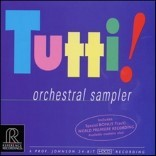 Tutti! - Orchestral Sampler 투티 오디오파일 앨범