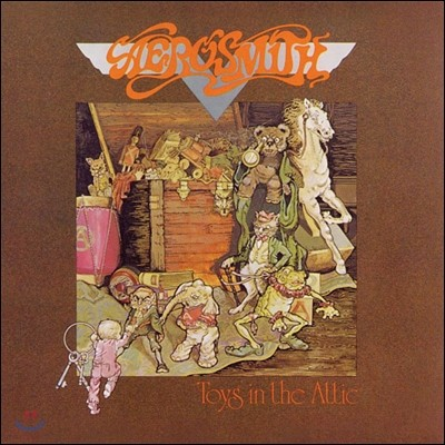 Aerosmith - Toys In The Attic 에어로스미스 3집 [LP]