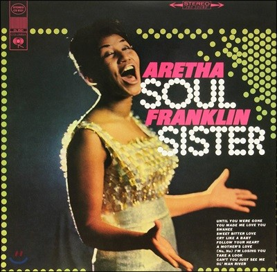 Aretha Franklin (아레사 프랭클린) - Soul Sister [LP]