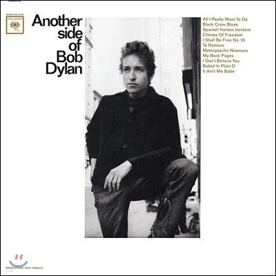 Bob Dylan (밥 딜런) - 4집 Another Side Of Bob Dylan (Mono Edition) [LP]