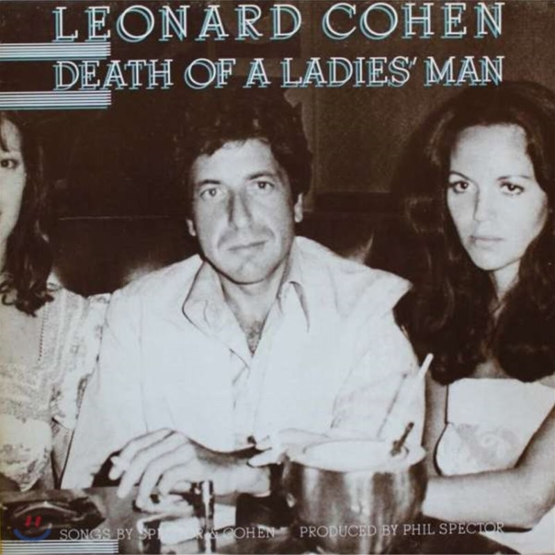Leonard Cohen (레너드 코헨) - 5집 Death Of a Ladies' Man [LP]