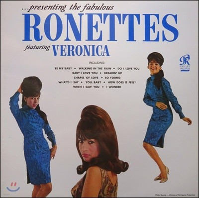 The Ronettes (로네츠) - Presenting the Fabulous Ronettes Featuring Veronica [LP]