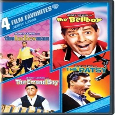 4 Film Favorites: Jerry Lewis (4 필름 페이버릿 : 제리 루이스)(지역코드1)(한글무자막)(DVD)