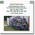 Jeno Jando 베토벤: 피아노 소나타 9 10 24 27 28번 (Beethoven: Piano Sonatas Vol. 6)