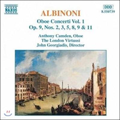 Anthony Camden 알비노니 : 오보에 협주곡집 (Albinoni : Oboe Concerti)