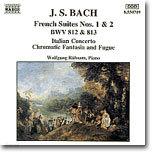 Wolfgang Rubsam 바흐: 프랑스 모음곡 (Bach: French Suites No.1 & No.2)