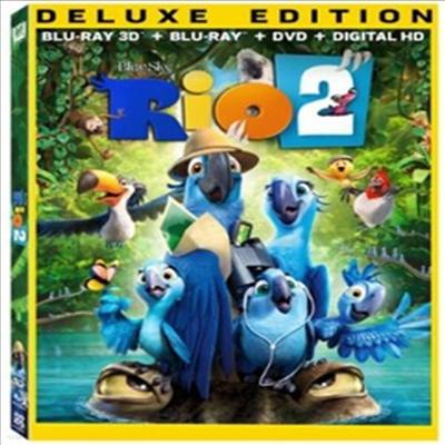 Rio 2 (리오 2) (한글무자막)(Blu-ray 3D)