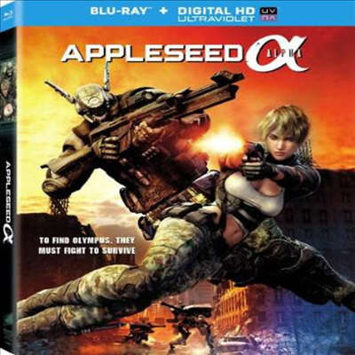 Appleseed: Alpha (애플시드 알파) (한글자막)(Blu-ray) (2014)
