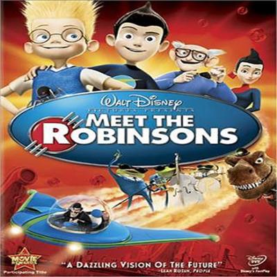 Meet the Robinsons (로빈슨 가족) (2007)(지역코드1)(한글무자막)(DVD)