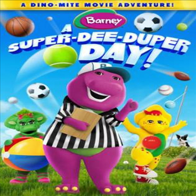 Barney: A Super Dee-Duper Day (바니)(지역코드1)(한글무자막)(DVD)