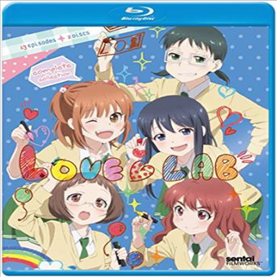 Love Lab: Complete Collection (연애라보) (한글무자막)(Blu-ray)