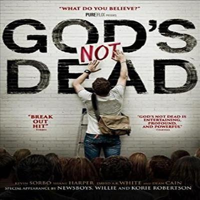 God's Not Dead (갓즈 낫 데드) (한글무자막)(Blu-ray) (2014)